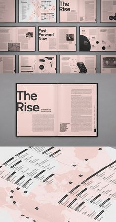 Layout ideas - are in the right place about Magazine Design typography Here we offer you the most beautiful pictures about the Magazine Design advertising you are looking for. Design Page, Graphisches Design, Buch Design, Book Design Layout, Index Design, Design Food, Graphic Design Layouts, Logo Design, Design Editorial