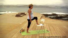 Prenatal Yoga Standing Twist Prenatal Pilates, Pregnancy Workout Videos, Course Search, Baby Development, Yoga Videos, New Moms, Beach Mat, Outdoor Blanket, Muscles