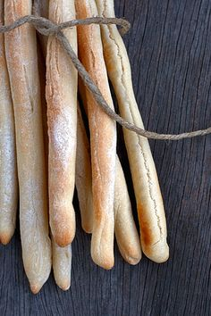 Grissini torinesi / Homemade breadsticks