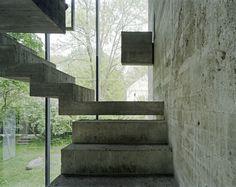 Hermann Rosa's incredible sculpture studio he designed for himself in Munich, 1968. Photos (C) Jürg Zimmermann.