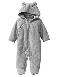 Gap Quilted bear footed one-piece Baby Boy Fashion, Kids Fashion, My Bebe, Crochet Bebe, Baby Health, Everything Baby, Baby Needs, Baby Time, Our Baby