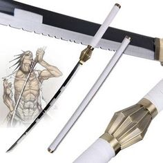 Bleach Zaraki Kenpachi  - Real Steel Sword    https://the-gift-shack.com/collections/by-interest/products/bleach-zaraki-kenpachi-real-steel-sword