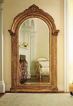 Make any room seem larger and bring an old-world ambiance into any room in your home while secretly storing your prized possessions with the Elizabeth Storage Mirror.