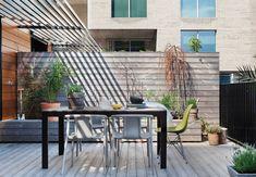 Lejlighed med dejlig stor terrasse
