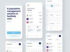 wecare - App Screens by Karlvili for Vili & Vili on Dribbble