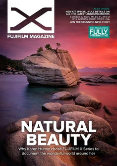 COVER PHOTO ALERT!  I did an interview for Fujifilm Magazine and my favorite natural wonder ended up on the cover! Lake Tahoe. She's a beauty that one.  Here's the issue: http://ift.tt/2lbSwdn. You can download the app on your iPhone or iPad it looks gorgeous on it!  My interview starts on Page 4... and includes a bunch of images that I'm so proud to share with this hugely enthusiastic global audience. Man there's NOTHING as peppy as a Fujifilm fan is there?  Color me grateful for about a…