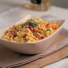 North African Chicken and Couscous   MyRecipes.com