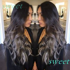 brown ombre process - Google Search