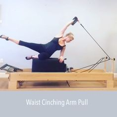 Now back to my true love Pilates❤️! This is a non classical exercise #fitspo by @christymccabepilates ! She moves beautifully if you haven't seen her page. I'm calling it Waist Chinching Arm Pull because it does just that, Chinch your waist. Great for the lats and obliques and perfectly suitable for #pregnant ladies of all stages. I'm using 1 red spring and cannot wait to share this goodie with my clients this week!!! Happy Monday❤️ @poiseandstrengthpilates # #pilates