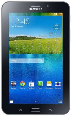 Samsung Galaxy Tab 3 V, T116, 3G, WiFi, Black Operating System: Android Screen Size (inch): 7.0 CPU Speed (Ghz): 1.3 Storage Capacity: 8 GB