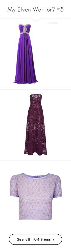 """""""My Elven Warrior🌿 #5"""" by moon-and-starss ❤ liked on Polyvore featuring dresses, gown, formal occasion dresses, chiffon dress, rhinestone dress, formal dresses, strapless formal dresses, gowns, elie saab and long dresses"""