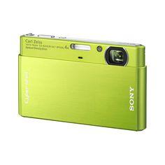 Lime Green Sony Cybershot