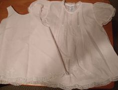 Feltman-brothers-pink-dress-with-slip with beautiful lace, embroidery and tucks.