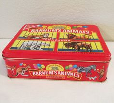 Vintage Barnum's Animal Crackers Collectible by KMSCollectibles