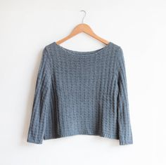 I made the Shibui Getty sweater as the first garment in my #summerofbasics wardrobe.