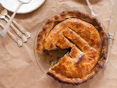 Escarole Pie recipe from Giada De Laurentiis via Food Network - try with GF pie crust