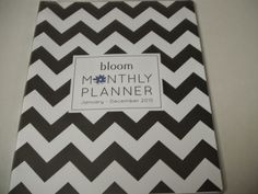 Britsy's Reviews: Review: Bloom Monthly Planner