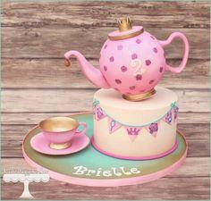 Cuteology Cakes | Princess Tea Party Cake