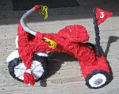 red tricycle pinata!