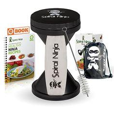Spiral Ninja Vegetable Spiralizer http://www.amazon.com/Spiral-Ninja-Slicer-Vegetable-Spiralizer/dp/B00S63WHTA/ie=UTF8?m=A227MYIBSXEGS4&keywords=vegetable+spiralizer