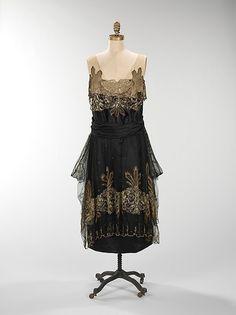 Evening Dress  1917-1920  The MET