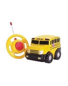 Swich Adapted Remote Controlled School Bus