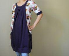 Pocketfull of Posies Dress by Shino of Nutta - blank slate pattern