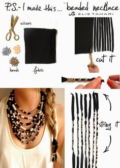 How To make Necklace From Beads. Junior jeweler  badge