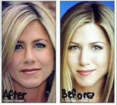 Believe it or not there are 20 years between these pictures of Jennifer Aniston! All thanks to our Galvanic Spa