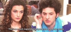 Jean-Ralphio's not up to being an uncle
