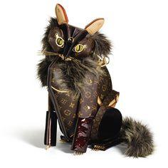 ルイ・ヴィトンで造られた動物オブジェ/Billie Achilleo