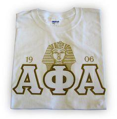 Alpha Pharaoh Tee   Alpha Phi Alpha