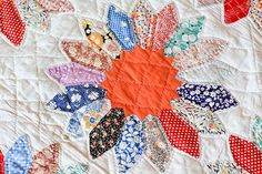 Vintage Dresden Quilt (detail), a photo by Jeni Baker on Flickr.