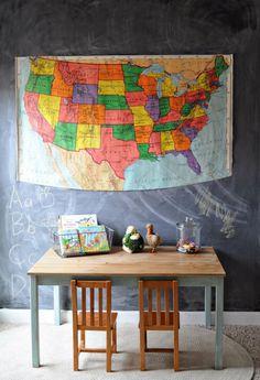 18 Brilliant IKEA Ingo Table Design Ideas : 18 Brilliant IKEA Ingo Table Design Ideas With Map Decor