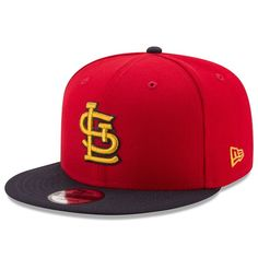 Men s St. Louis Cardinals New Era Red Navy Title Turn 9FIFTY Adjustable  Snapback Hat dc51455da7a