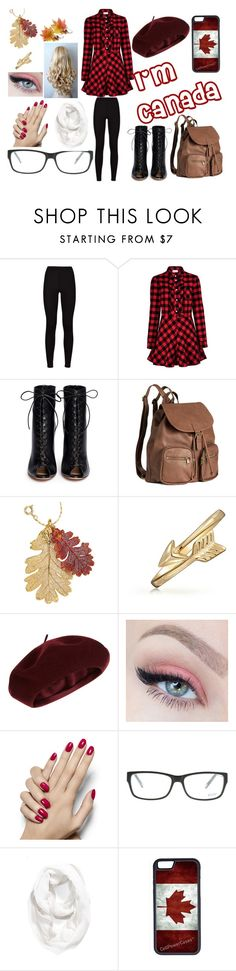 """Fem!Canada"" by mary-lambert-1 ❤ liked on Polyvore featuring RED Valentino, Gianvito Rossi, H&M, Natures Jewelry, Bling Jewelry, Accessorize, Joop!, Halogen and CellPowerCases"