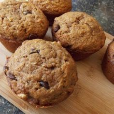 Zucchini-Chocolate Chip Muffins - Allrecipes.com