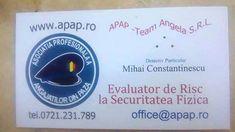 APAP - Asociatia Profesionala a Angajatilor din Paza | Asociatia Profesionala a Angajatilor din Paza (APAP) | 2012