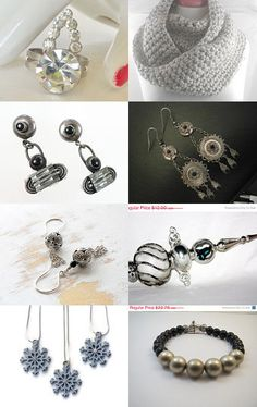 Silver Bells by Kerri on Etsy--Pinned with TreasuryPin.com