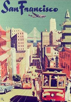 "San Francisco in the post gold rush era but pre ""digital gold rush"" times. #lifestyle #image"