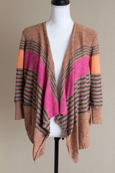 American Eagle Cardigan Women's Size Medium Stripes   | eBay