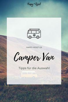 Welcher Campervan ist der richtige? Soll es ein Van oder ein Wohnmobil werden? Es gibt eine riesige Auswahl an Fahrzeugen, da fällt die Entscheidung nicht leicht. Hier findest du Tipps für die Auswahl des richtigen Basisfahrzeugs. Vw Bus, Camper Van, Blog, Camper Renovation, Overwintering, Camper Ideas, Rv, Vehicles, Life