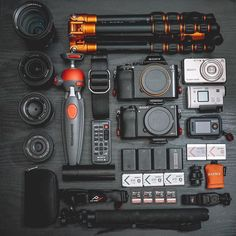 Sweet gear inspiration by @professorhines Tag someone who needs more gear  #camera #gear #sony #a7rii #a6000 #sonyalpha #carlzeiss #zeiss #lens #sonyphotography #cameras #flatlay