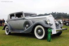 1933 Pierce Arrow Model 836 at the Pebble Beach Concours d'Elegance