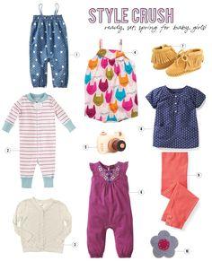 spring fashion favorites for baby girls on aliceandlois.com