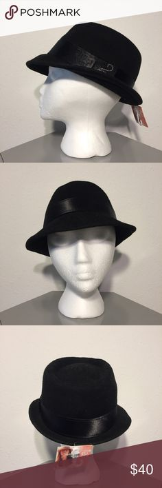 Rip Curl Wool Felt Side Swept Fedora - NWT Rip Curl Wool Felt Side Swept Fedora - Satin band with embroidered details. Saucy side angle tilt. Rip Curl France Line. 100% wool. New With Tags. Feel free to make me an offer. Rip Curl Accessories Hats