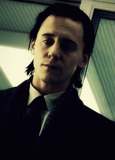 Tom Hiddleston as Loki... doesn't get much sexier than that. ;)