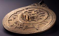 Brass Planispheric Astrolabe - Iran or Iraq (10th century) ~ The Museum of Islamic Art Doha, Qatar.
