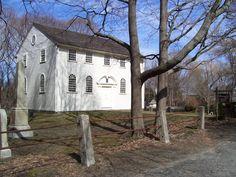 Old Narragansett Church, Wickford RI (1707) (oldest surviving colonial Episcopal church in Northern USA)