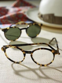 f51d7068abaa Lafont Pantheon Frame in Oxford Tortoise Preppy Mens Fashion